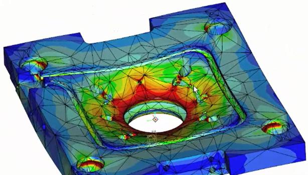 Thermische Analyse und die Überprüfung ihrer Festigkeit