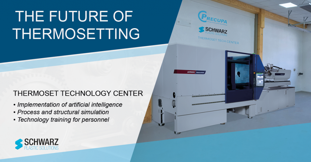 Thermosetting center